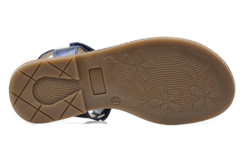 Sandales et nu-pieds Bopy ETUNIS Bleu vue haut