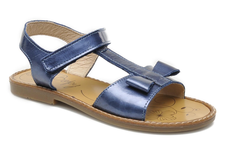 Sandales et nu-pieds Bopy ETUNIS Bleu vue détail/paire