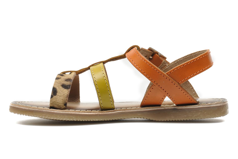 Sandales et nu-pieds Bopy FABIOLA Multicolore vue face