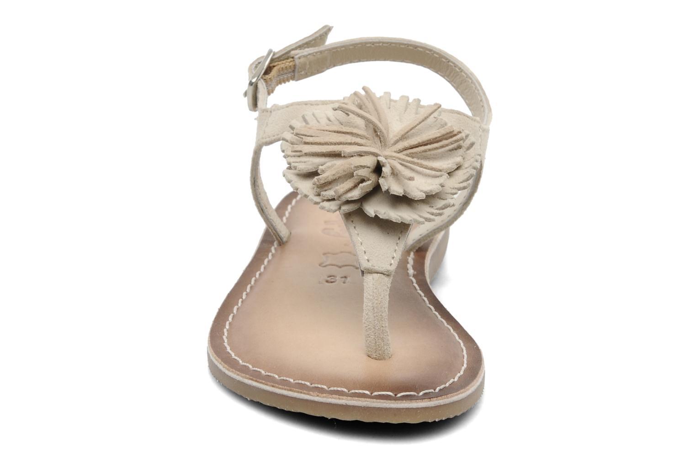 Sandali e scarpe aperte Bopy FREESIA Beige modello indossato