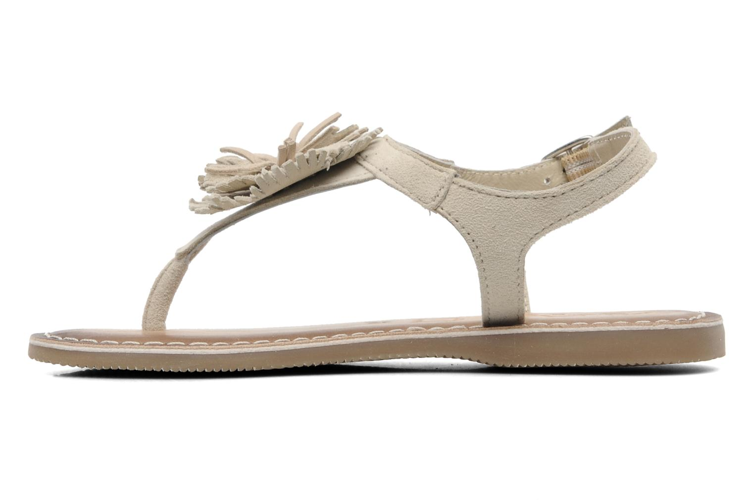 Sandals Bopy FREESIA Beige front view