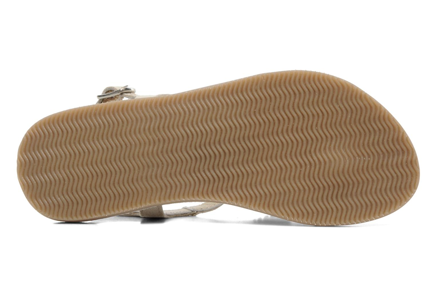 Sandals Bopy FREESIA Beige view from above