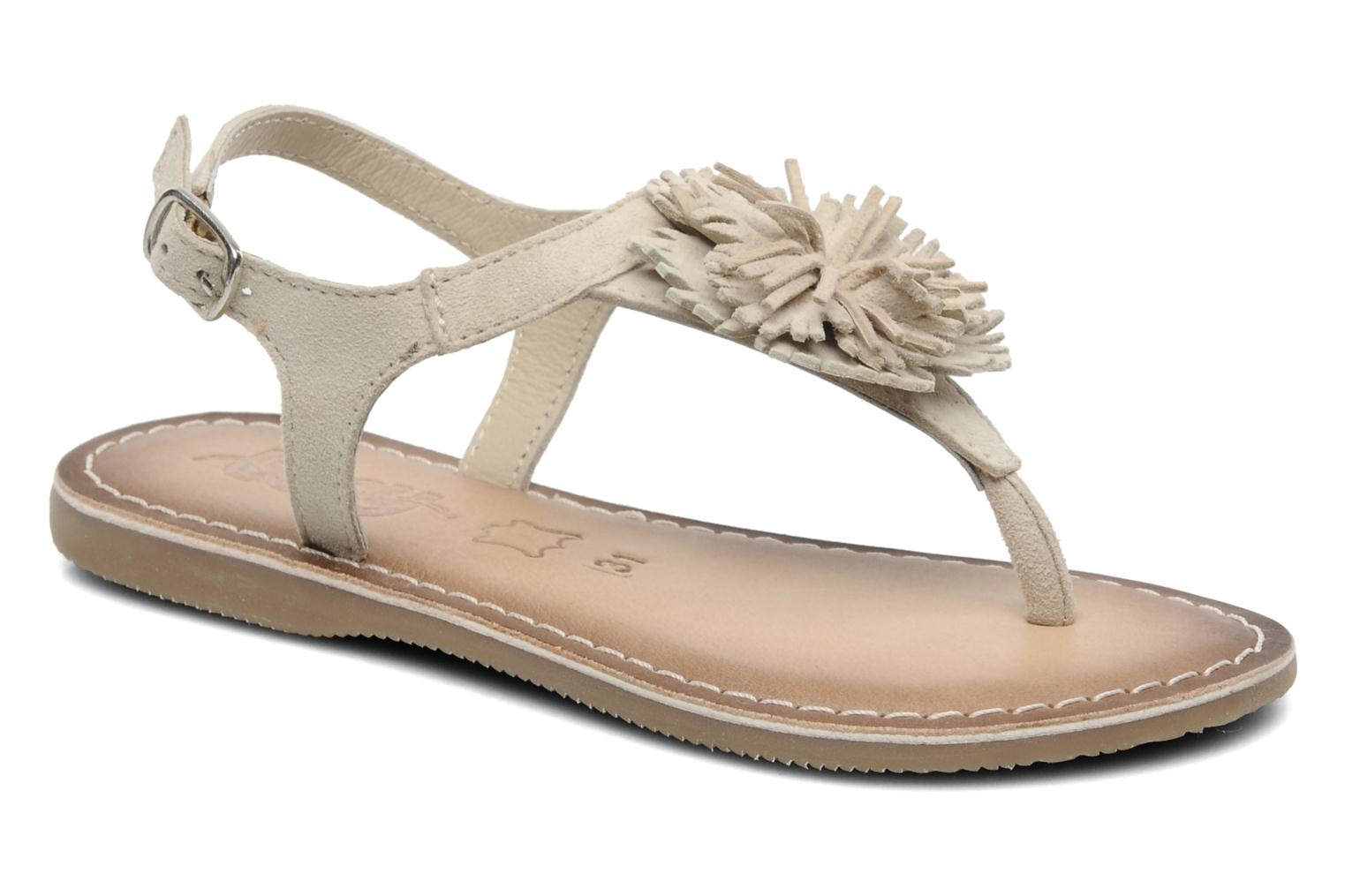 Sandals Bopy FREESIA Beige detailed view/ Pair view