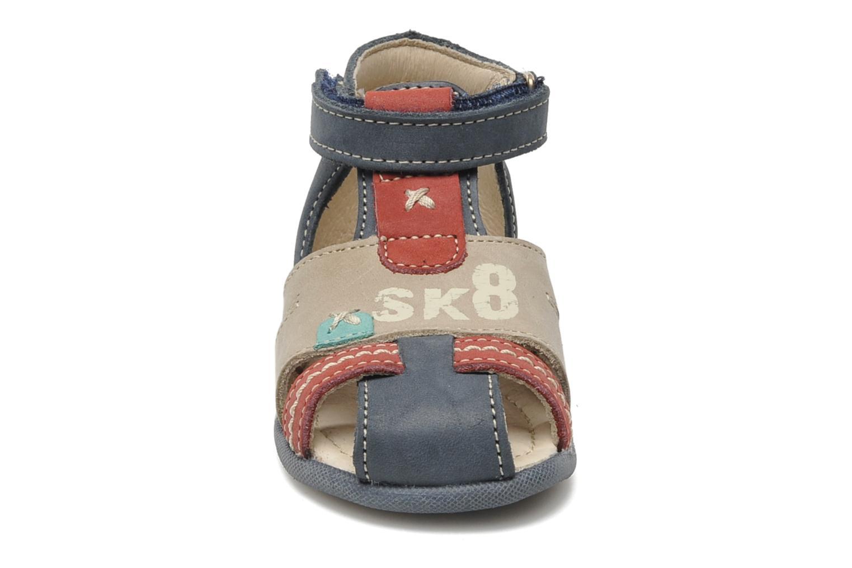 Sandales et nu-pieds Bopy ZALBANO Bleu vue portées chaussures