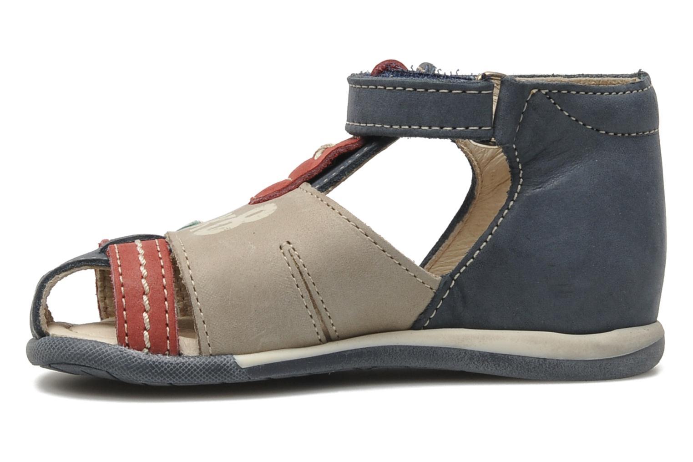 Sandales et nu-pieds Bopy ZALBANO Bleu vue face
