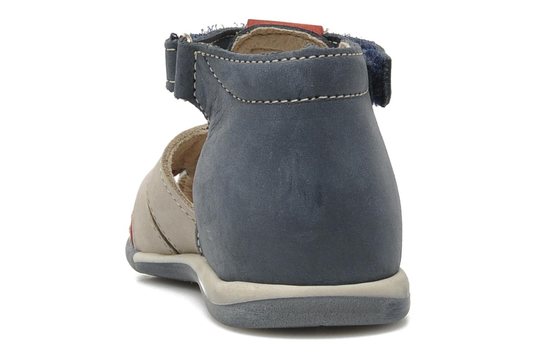 Sandales et nu-pieds Bopy ZALBANO Bleu vue droite