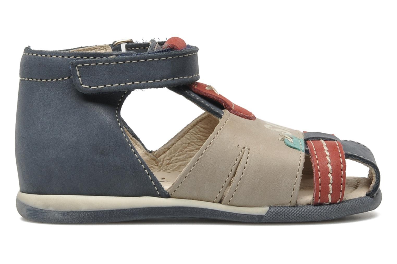 Sandals Bopy ZALBANO Blue back view