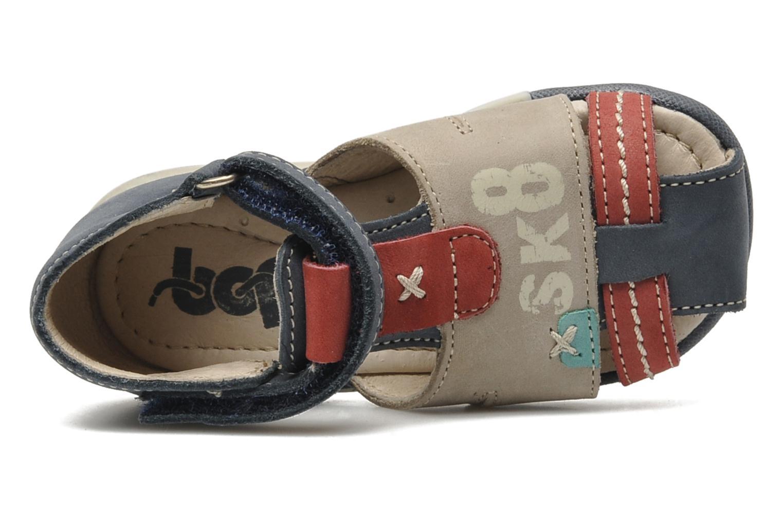 Sandales et nu-pieds Bopy ZALBANO Bleu vue gauche