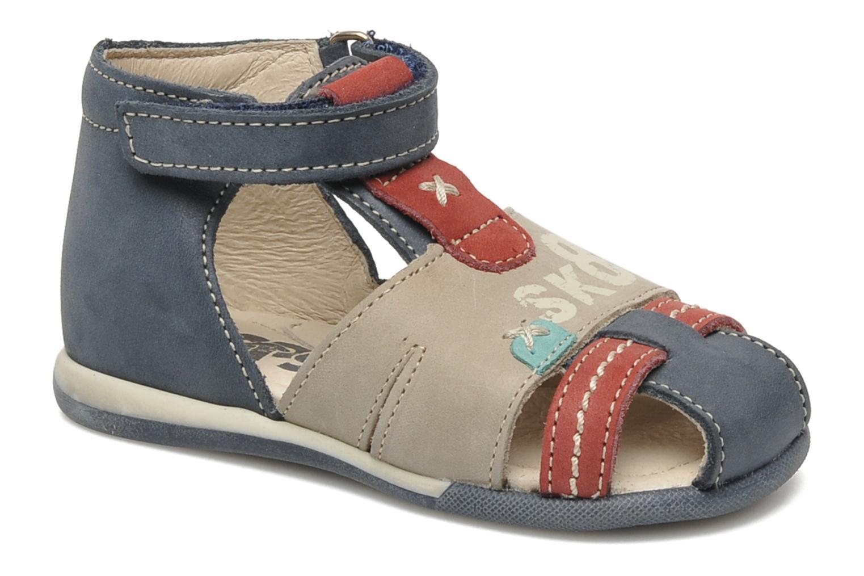 Sandales et nu-pieds Bopy ZALBANO Bleu vue détail/paire
