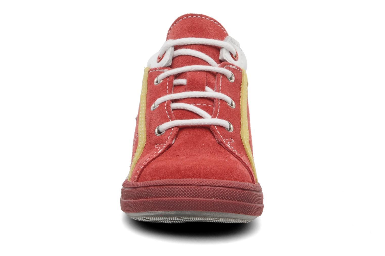Baskets Bopy ZECLAIR Rouge vue portées chaussures
