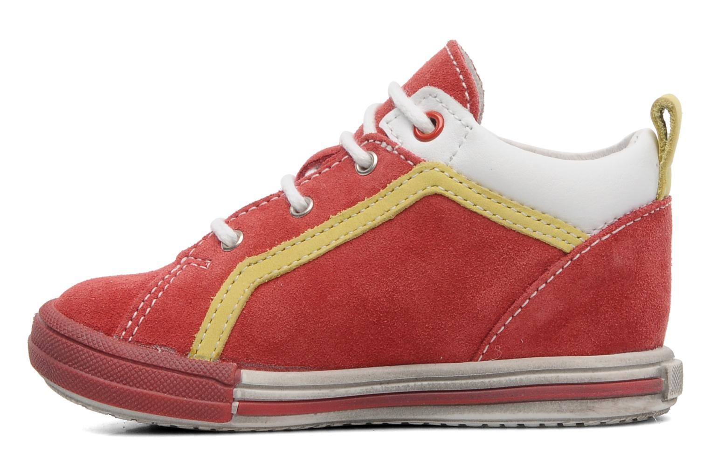 Sneaker Bopy ZECLAIR rot ansicht von vorne