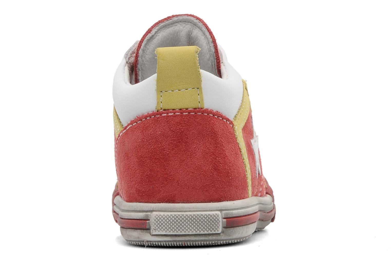 Baskets Bopy ZECLAIR Rouge vue droite