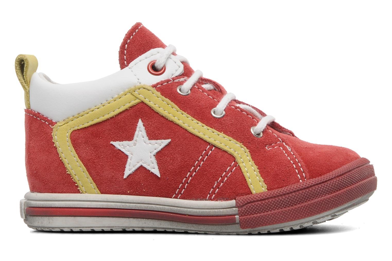 Sneaker Bopy ZECLAIR rot ansicht von hinten