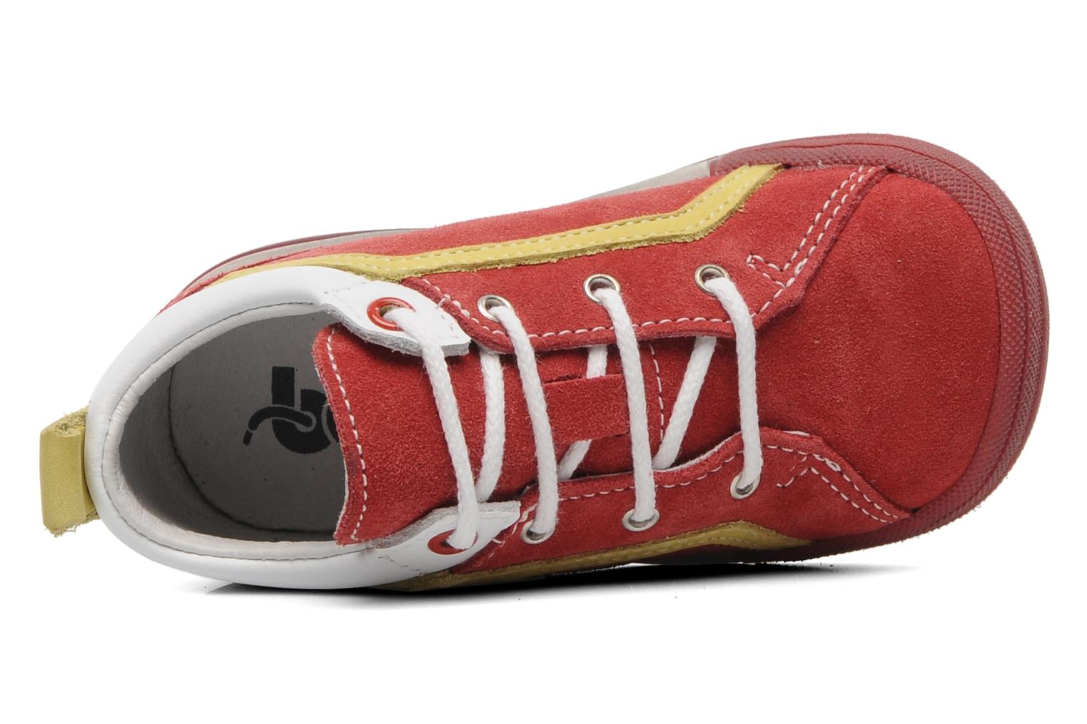 Sneakers Bopy ZECLAIR Rosso immagine sinistra