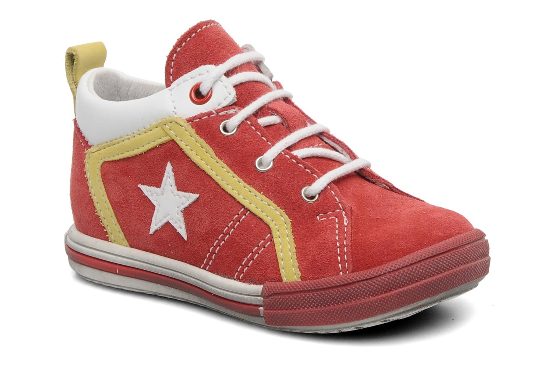 Sneakers Bopy ZECLAIR Rød detaljeret billede af skoene