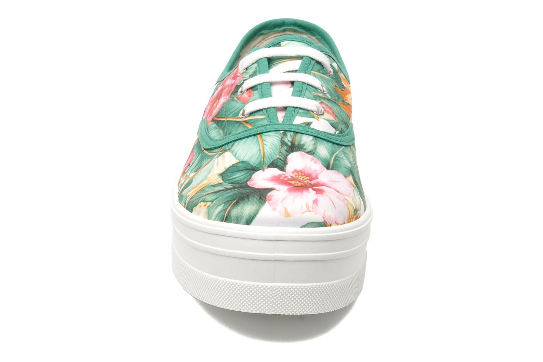 Baskets Victoria Inglesa Havaiiano Plataforma Multicolore vue portées chaussures