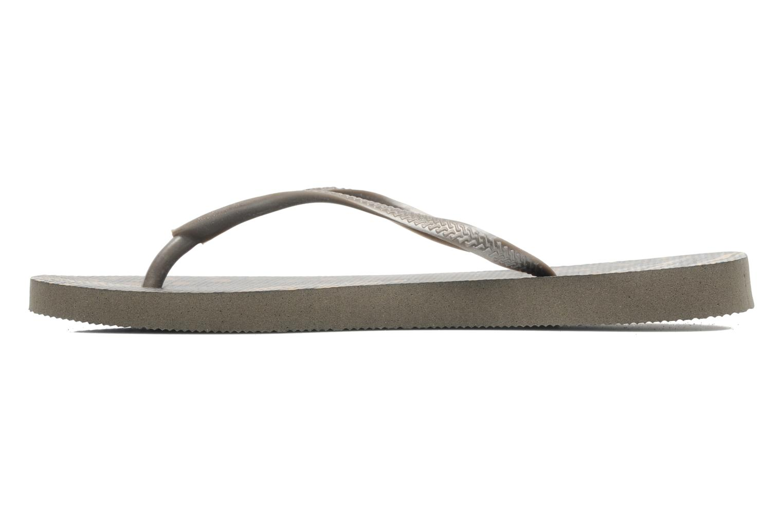 Slippers Havaianas Slim Animals Zilver voorkant