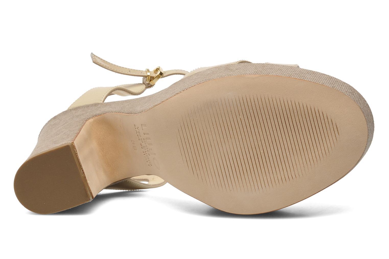 Sandales et nu-pieds Liu Jo Olimpia Monoblocco Beige vue haut
