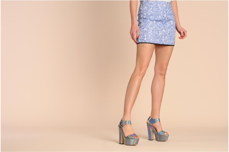 Sandales et nu-pieds La Strada Kai Gris vue bas / vue portée sac