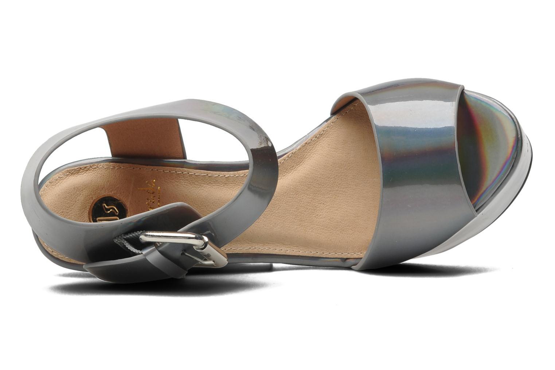 Sandales et nu-pieds La Strada Kai Gris vue gauche