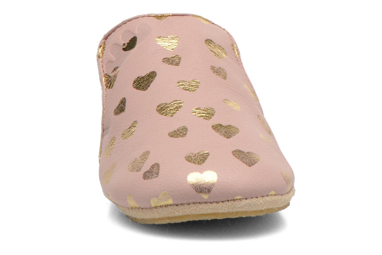 Hausschuhe Easy Peasy Blublu Patin Lovely rosa schuhe getragen