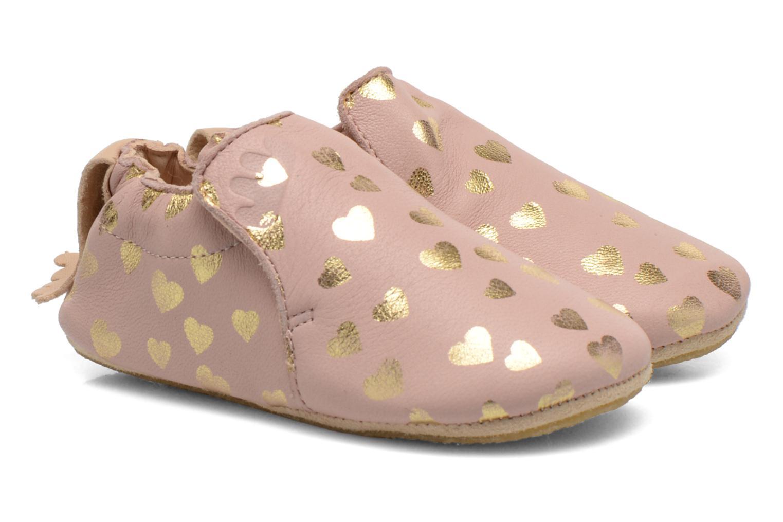 Hjemmesko Easy Peasy Blublu Patin Lovely Pink detaljeret billede af skoene
