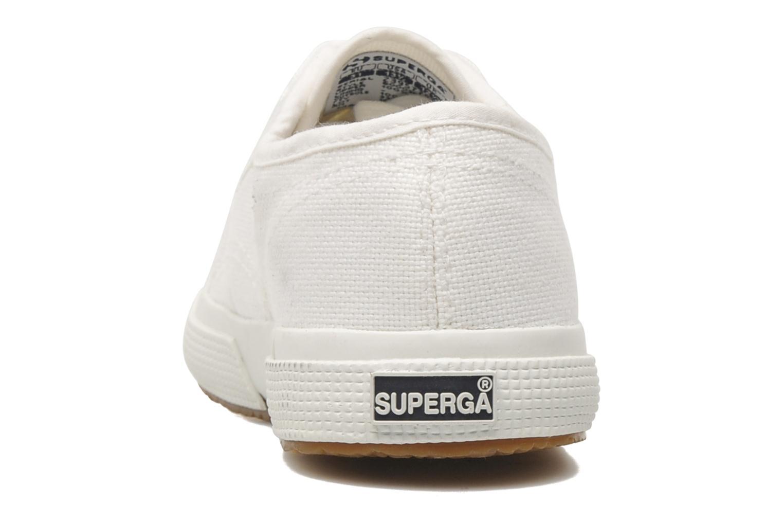 Baskets Superga 2750 J Cotu Classic Blanc vue droite