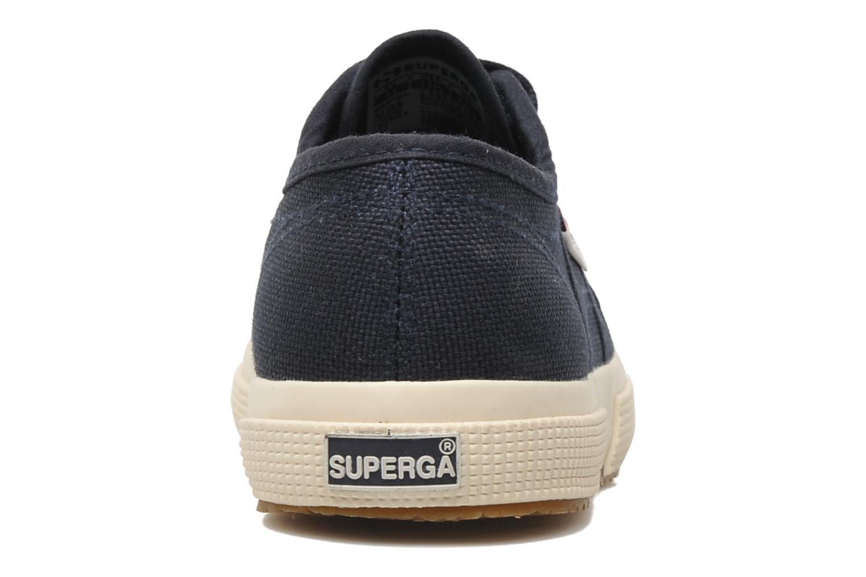 Sneakers Superga 2750 J Cotu Classic Blå Se fra højre