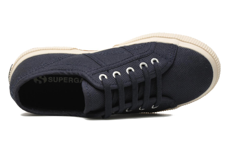 Sneakers Superga 2750 J Cotu Classic Blå bild från vänster sidan