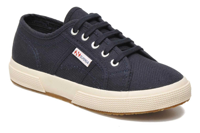 Sneakers Superga 2750 J Cotu Classic Blå detaljeret billede af skoene