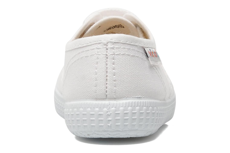 Sneakers Victoria Inglesa Lona Wit rechts
