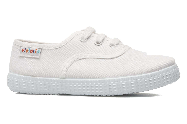 Sneakers Victoria Inglesa Lona Wit achterkant