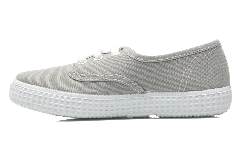 Sneakers Victoria Inglesa Lona Grijs voorkant