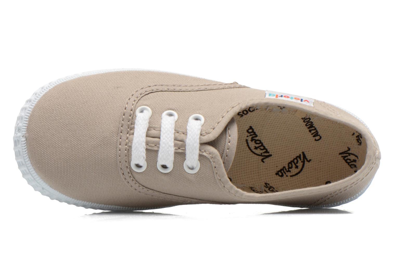 Sneaker Victoria Inglesa Lona grau ansicht von links