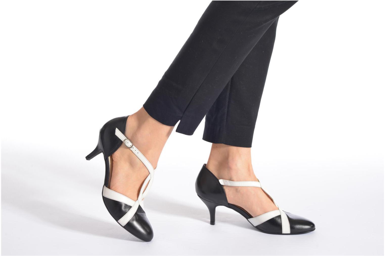 Zapatos de tacón Georgia Rose Titine Azul vista de abajo