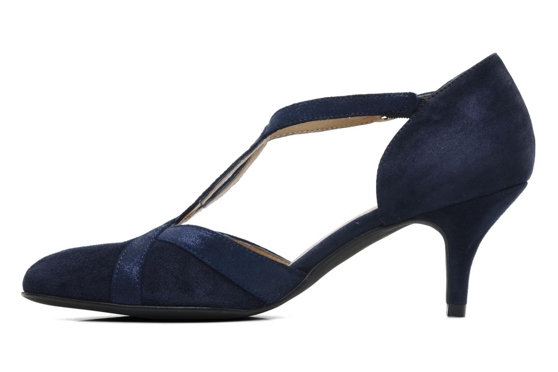 Zapatos de tacón Georgia Rose Titine Azul vista de frente