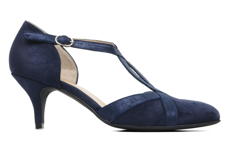 Zapatos de tacón Georgia Rose Titine Azul vistra trasera