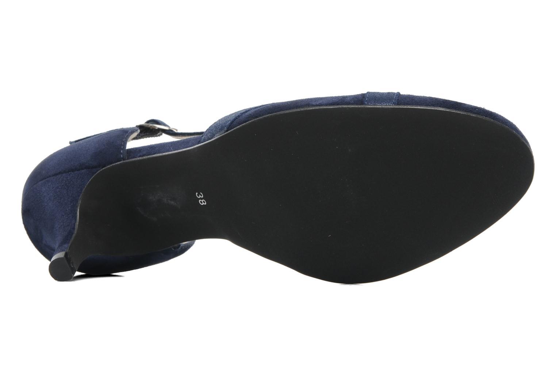 Zapatos de tacón Georgia Rose Titine Azul vista de arriba
