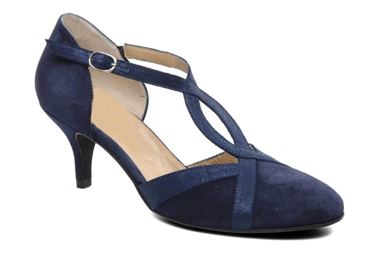 Zapatos de tacón Georgia Rose Titine Azul vista de detalle / par