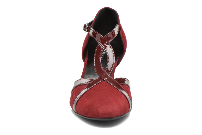 Zapatos de tacón Georgia Rose Titine Vino vista del modelo
