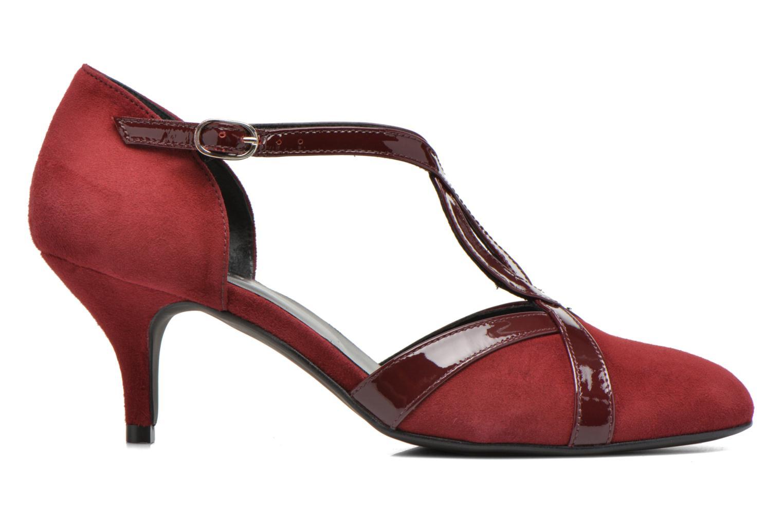 Zapatos de tacón Georgia Rose Titine Vino vistra trasera