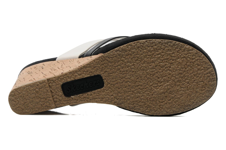 Clogs & Pantoletten Skechers Modiste 38332 schwarz ansicht von oben