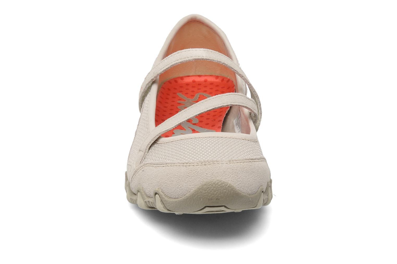 Ballerines Skechers Angelic 22411 Beige vue portées chaussures