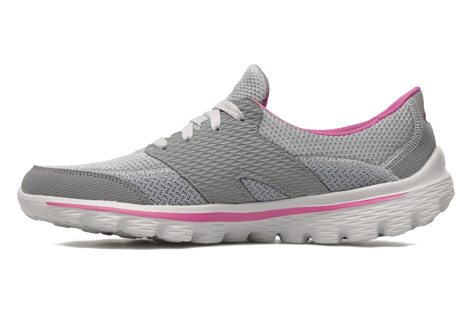 Sport shoes Skechers Go Walk 2Stance 13592 Grey front view