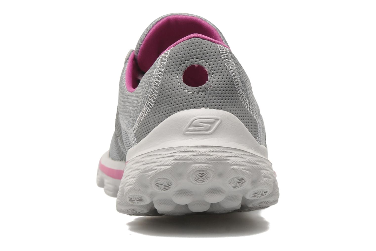 Sport shoes Skechers Go Walk 2Stance 13592 Grey view from the right