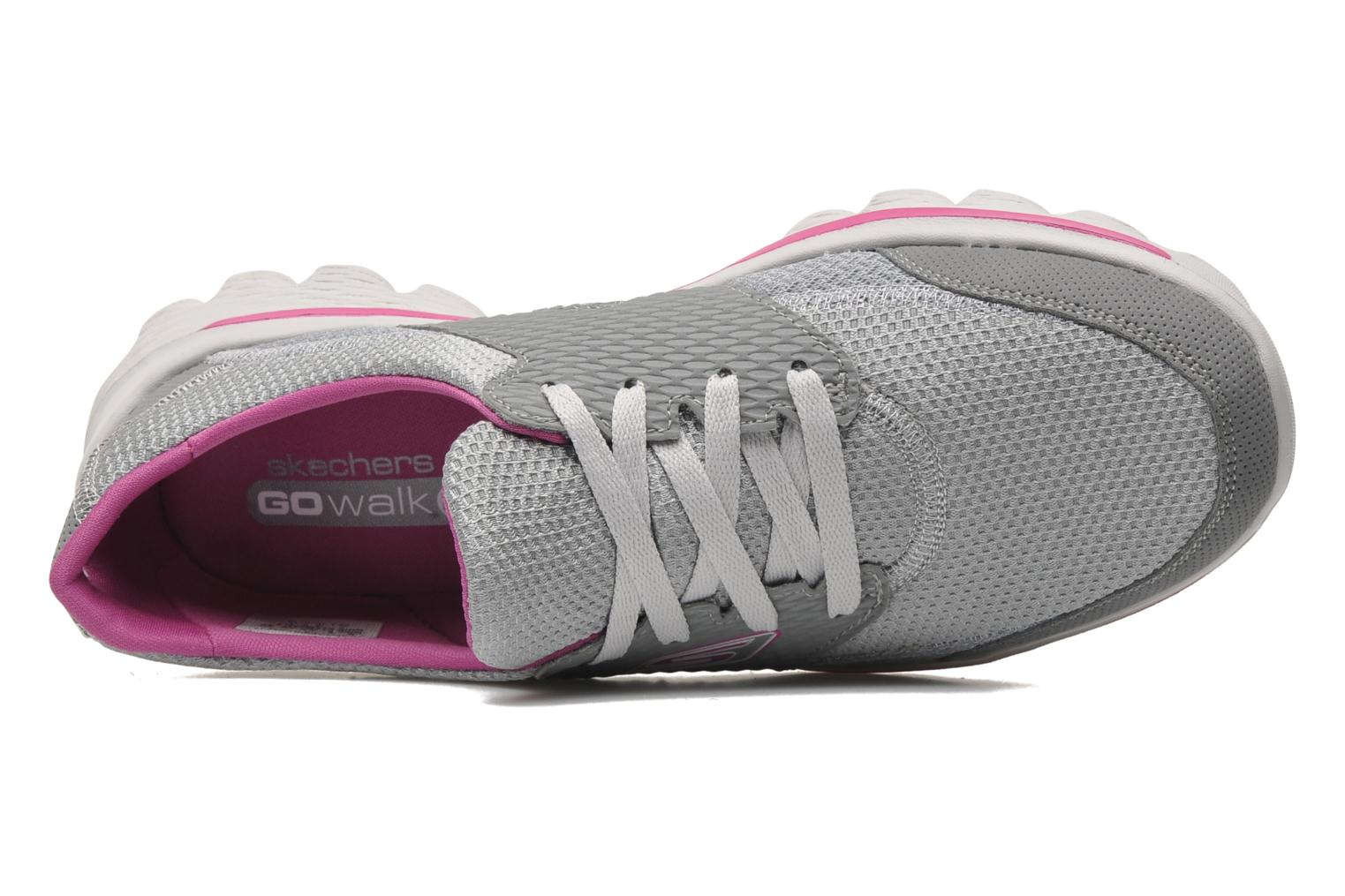 Sport shoes Skechers Go Walk 2Stance 13592 Grey view from the left
