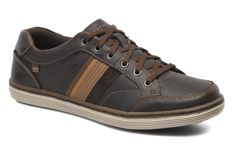 Baskets Skechers Sorino Duarte 64060 Marron vue détail/paire