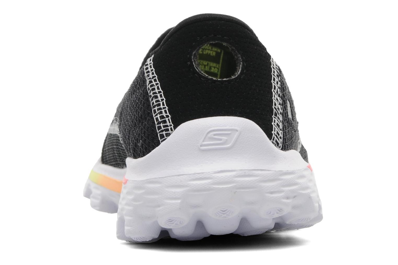 Sneakers Skechers GO WALK 2 Zwart rechts