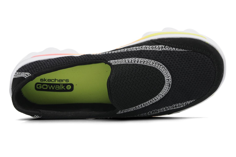 Sneakers Skechers GO WALK 2 Zwart links