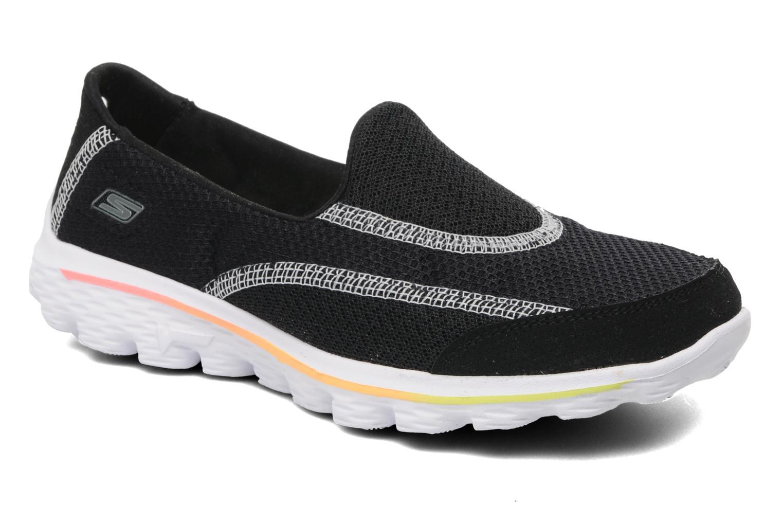 Sneakers Skechers GO WALK 2 Zwart detail